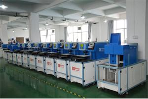 Bench Top Wire Stripping Machine , Mechanical Wire Stripping Machines Easy Operation