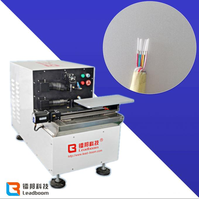 Convenient Operation Coaxial  Wire Stripping Machine For Aluminum Foil Wire