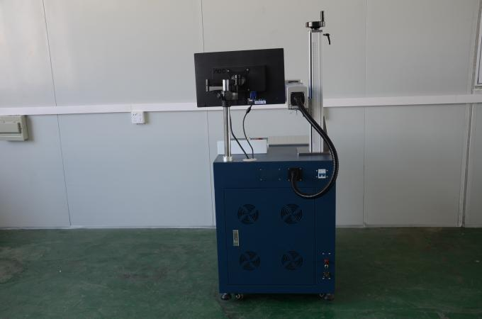 Fiber Laser Marking Machine to mark on Gold Board / Silver Board and other metal