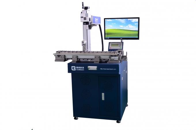 USB Cable Fiber Laser Marking Machine , HDMI  PVC PE Cable Marking Machine