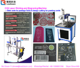 Clear Marking CO2 Laser Marking Machine With High Speed Scanning Galvanometer System