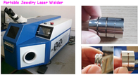 China Stainless Steel / Jewelry Soldering Machine For Jewelry 0.2 - 2.0mm Light Spot Size factory