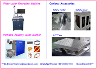 Professional Portable Fiber Laser Marking Machine Stainless Steel Scoop Cup LB - MF20