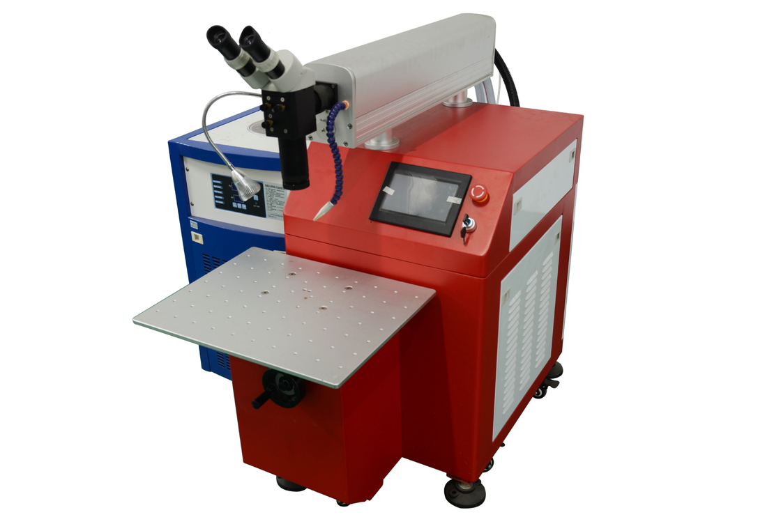 High Precision Cnc Spot Welding Machine , Portable Arc Welding Machine Red Color