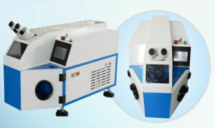 White Colored Titanium Jewelry Soldering Machine With 1 - 5ms Pulse Duration