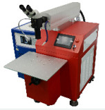 Laser Spot Welding Machine 200W With Cross Cursor / Red Dot Preview Aiming Device