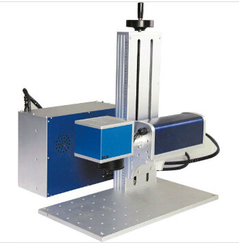 Portable Laser Engraving Machine For Jewelry , Handheld Laser Marker Blue Color