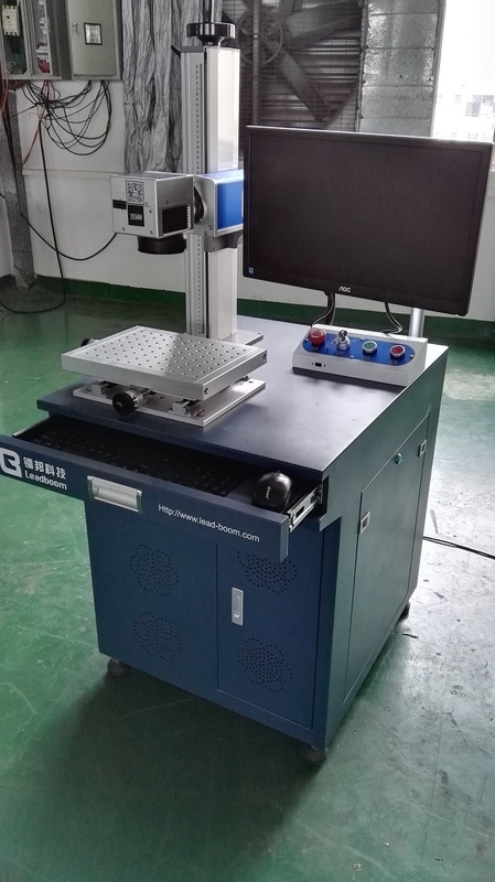 High Speed Co2 Laser Marker / Fiber Laser Marking System For Polycarbonate Plastics