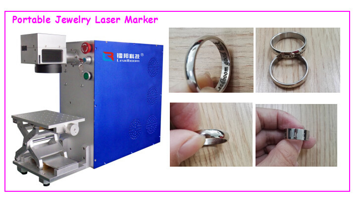 Mini Fiber Laser Marking Machine High Precision For Industrial Plastic Tube 30W