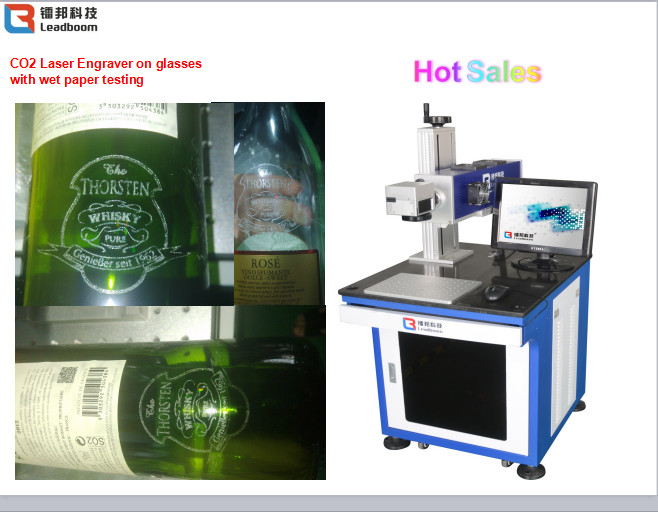 High Speed CO2 Laser Marking Machine Semiconductor Laser Marker Wooden Printing
