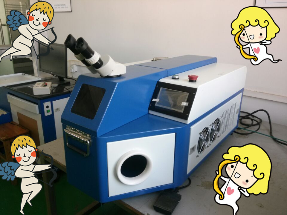 YAG Laser Welding machine, Jewelry Soldering Machine With UK Ceramic Cavity