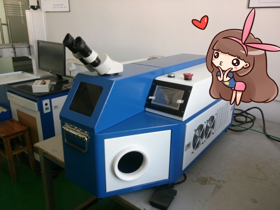 60W 80W 100W 200W Jewelry Laser Soldering Machine, laser welding machine