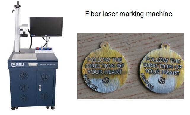 Fast Speed Fiber Laser engraving/marking machine for Hardware Accessories