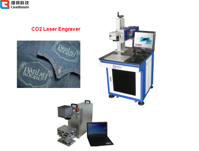 1064nm Laser Wavelength Metal Laser Engraving Machine For Electronic Components