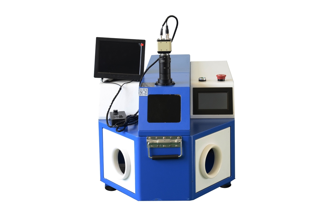 Stainless Steel / Gold Laser Welding Machine Jewelry Soldering Equipment