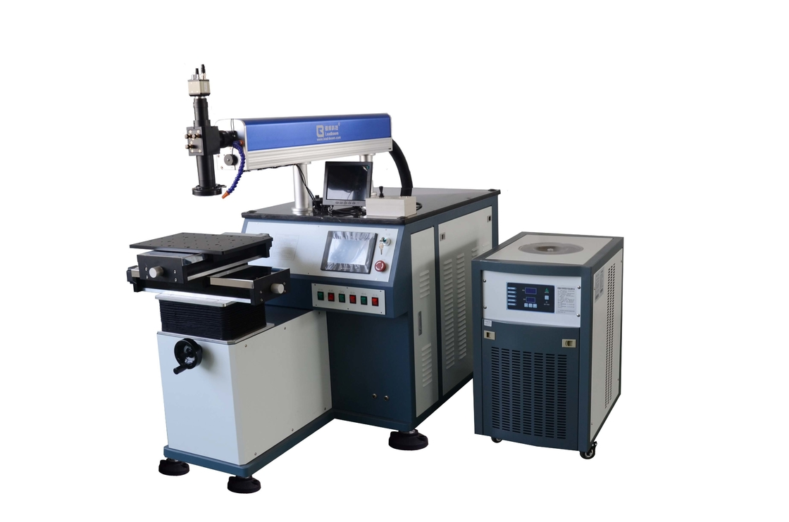 300W Water Cooled Automatic Welding Machine , High Output Power Laser Soldering Machines