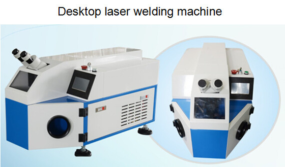 High Quality Desktop Laser Welder , Spot Soldering Machine For Mobile Communications