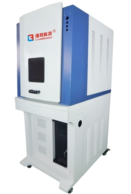 Uv Etching Machine For Plymer Materials , Industrial Marking Machine Air Cooling