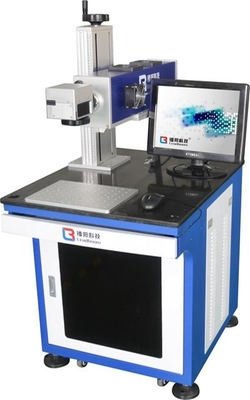 China 30W Non Metal with Logo Co2 Laser Marking Machine, for Cloth Leather Nameplate factory