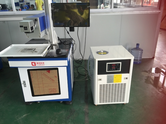 China Air Cooling CO2 Laser Engraving Machine UV Laser  / Fiber Laser Marker Machine for glass, mobile accessories factory