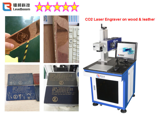 China 60W Wood Laser Engraving Machine For Wood Craft , Stone Carving Machine With High Speed factory