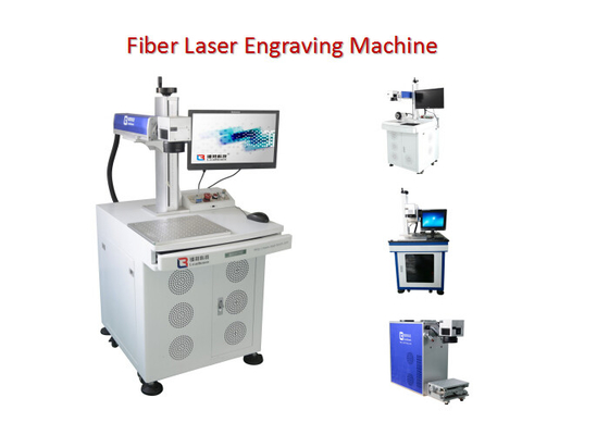China LED Bulb Fiber Laser Engraving Machine for Car Charger / USB Cable Electric factory