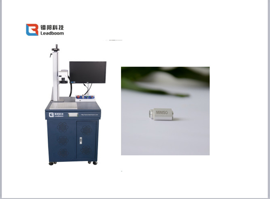 China Silver / stainless Steel/ metal  Materials Fiber Laser Marking machine factory