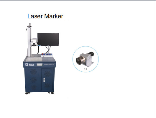 China Fiber Laser Engraving Machine to Engrave Jewelry Product, Ring, silver, and gold factory