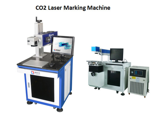 China Printing Bar Code CO2 Laser Engraving Machine With High Accuracy / Speed , Laser Printer factory