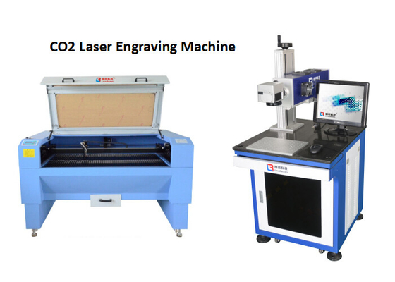 China Beverage Package CO2 Laser Engraving Machine For Without Consumables Cost factory