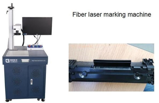 China Fiber laser marking machine, plastic laser logo printing machine factory