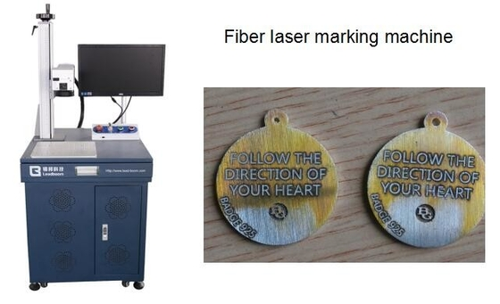 China Fast Speed Fiber Laser engraving/marking machine for Hardware Accessories factory