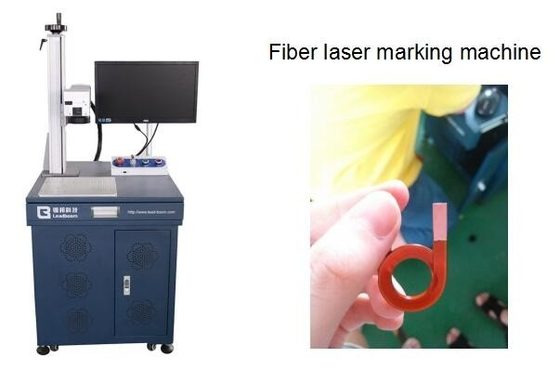 China High frequency transformer Fiber Laser stripping Machine, laser marking machine factory