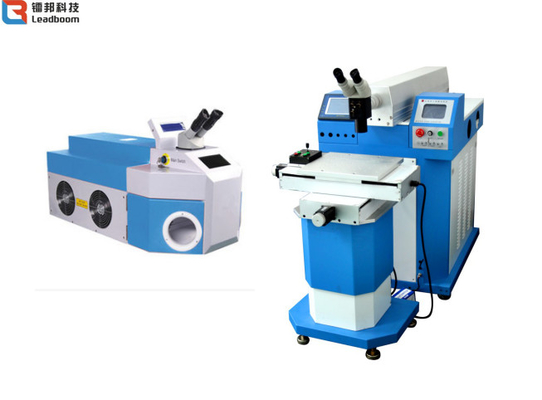 China Automatic Steel / Jewelry Soldering Machine Water - Cooled Speed Laser Welding factory
