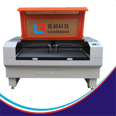 CCD Leather Clothing Fiber Laser Cutting Machine For Plastic Material