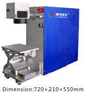 China 700 X 245 X 460mm LB-MFA Portable Fiber Laser Marking Machine For Metal / Nonmetal factory