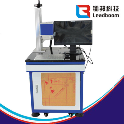China Stable Power 8000 mm/S 30W Desktop Laser Marking Machine For Plastic Amperemeter factory
