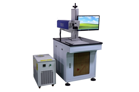Small Focused Spot UV Laser Marking Machine With 355nm Wavelength for Electronic Plastic Parts