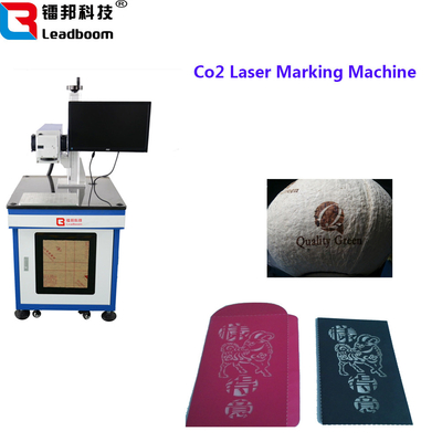 China Co2 Laser Carving Machine For Ceramic Rotator , Laser Marker Machine For Model Products factory