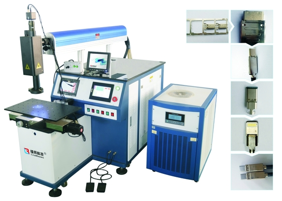 China 80W  Stainless Steel Jewelry Laser Soldering Machine or laser welding machine factory