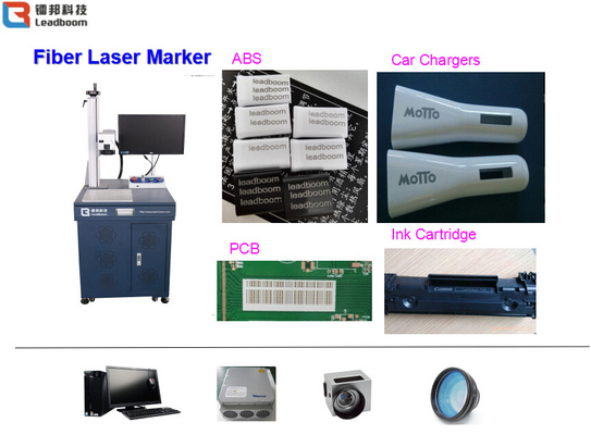 China Fiber Laser marking/ engraving/printing Machine For all Metal Materials factory