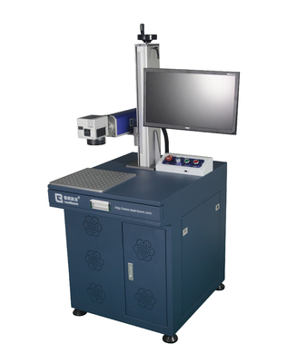 Fiber laser printing machine to print on LED lighting, LED bulbs, ABS and plastic material, laser engraving machine