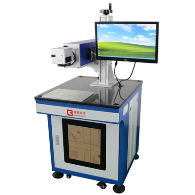 China Environmental Protection Co2 Laser Engraver Machine Blue Color For Furniture CE factory