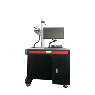 China Stainless steel fiber laser engraving machine, steel fiber laser marking machine factory