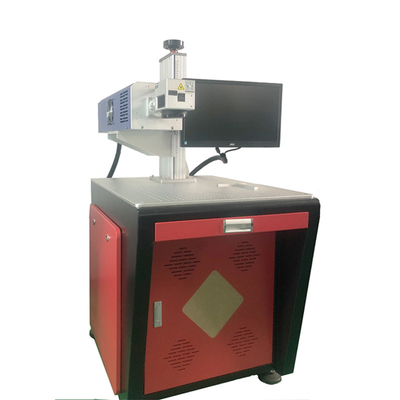 China 30W 60W Co2 Laser Marking Machine for wood/leather/cloth, pencil logo laser printing machine factory
