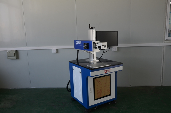 30W Water Cooling Co2 Laser Marking Machine For Electronic Components / Shell Product