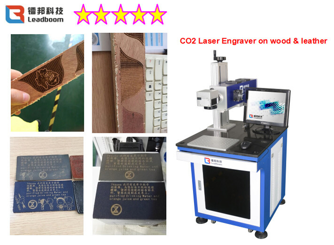 Online Flying Synrad CO2 Laser Marking Machine 30W With Long Time Work CE